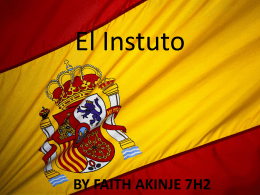 EL INSTITUO - Harris Girls` Academy East Dulwich