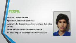 Perfil - Blog de ESPOL
