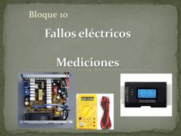 Fallos eléctricos Mediciones - Ciudaddelosmuchachos-SMR