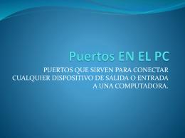 Puertos EN EL PC - arturotobar.com diseño grafico