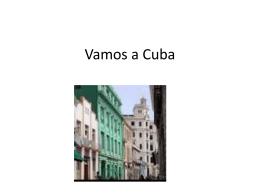 Un Viaje Estereotipado a Cuba