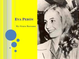 Eva Perón - profepickett