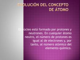 EL ÁTOMO - Wikispaces