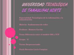 DIFERENCIAS ENTRE OSI Y TCP - ingenieria-lucio-93