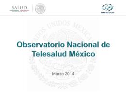 Título - Observatorio Telesalud