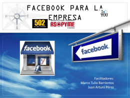Ventajas de Facebook para la empresa