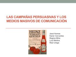 Campañas persuasivas Cap. 9