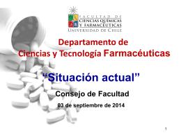 Presentacion_DCTF - Facultad de Ciencias Quimicas y