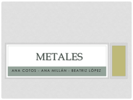 METALES - Materiales3A1