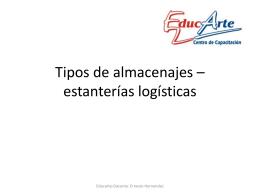 tipos de estanterias logisticas