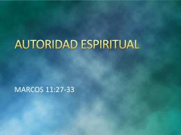 20140430 autoridad espiritual