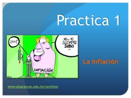 Practica 1 Inflacion