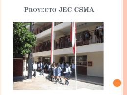 Proyecto Jec - Colegio Santa María de Aconcagua