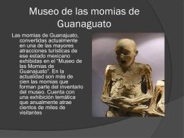 Museo de las momias de Guanaguato