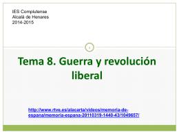 HE T8 Guerra y revolución liberal (final)