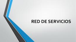 RED DE SERVICIOS (542607)