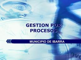 Provisión de Servicios de Asesoría Técnica en la implementación