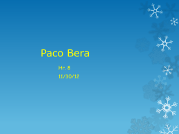 Paco Bera