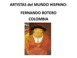 FERNANDO BOTERO COLOMBIA