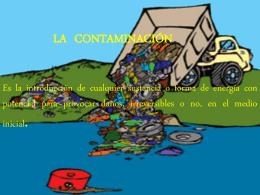 los productos contaminantes
