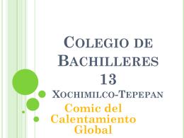 Colegio de Bachilleres 13 Xochimilco-Tepepan Comic del