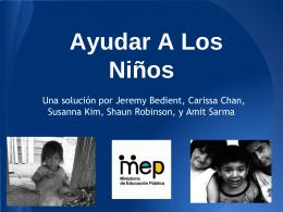 Ayudar A Los Niños