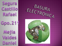 Presentacin de basura electronica - ticks