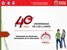 PAPAS - PREU - Universidad de los Llanos