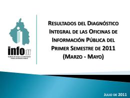 Diapositiva 1 - Instituto de Acceso a la Información Pública y