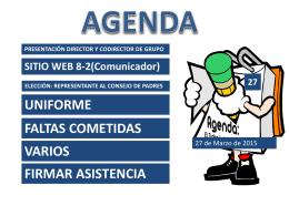 Presentación de PowerPoint - Informacion grado 8-2 iearm