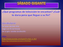 Qué programas de televisión te encantan