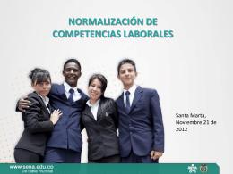 normalización de competencias laborales