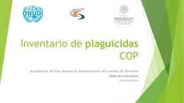 Plaguicidas COP - Programa Nacional de Implementación CE