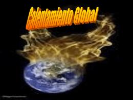 ¿Qué es el Calentamiento Global?