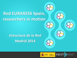Estructura de la Red - Euraxess