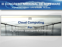 Computación en nube - Amazon Web Services