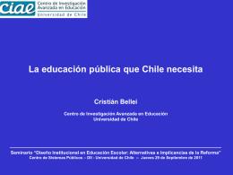 Presentacion (PPT) Cristian Bellei