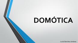 Lucía - Domótica - TICO