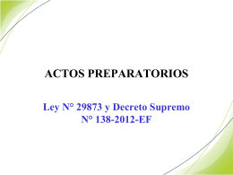 ACTOS PREPARATORIOS[1][1]