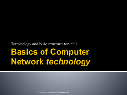 Intro to Network Technology in the LAB