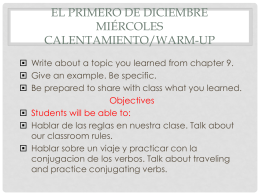 A Viajar chapter 10+vocabulary 2