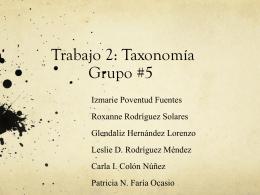 Trabajo 1: Grupo #5