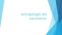 Antropología del nacimiento