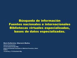 Unidad 1 Búsqueda de información Fuentes - Salud-Infantil-B5