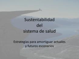 Sustentabilidad del sistema de salud