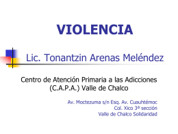 violencia - WordPress.com