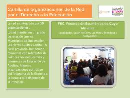Cartilla FEC - Fundación SES