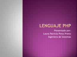 Lenguaje Php - programacion3sanvicente