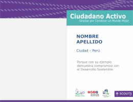 Ciudadano Activo
