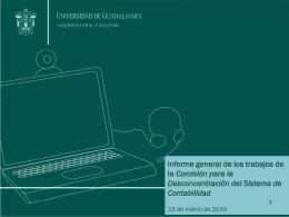 informe cdsc - Consejo de Rectores